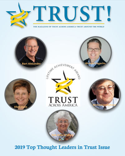 TRUST! Magazine & 2019 Thought Leaders